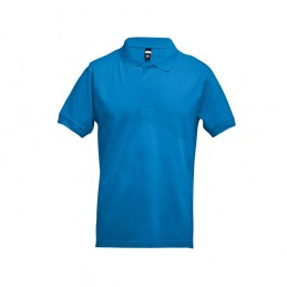 ADAM. Tricou polo pentru barbati 30131.54-XXL, Albastru acqua