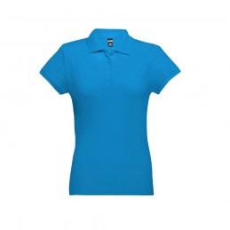 EVE. Tricou polo pentru dame 30135.54-XXL, Albastru acqua