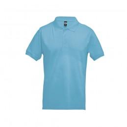 ADAM. Tricou polo pentru barbati 30131.24-XXL, Albastru deschis