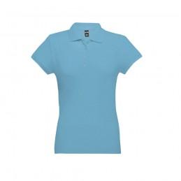 EVE. Tricou polo pentru dame 30135.24-L, Albastru deschis