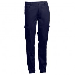 TALLINN. Pantaloni de lucru bărbați 30247.34-3XL, Albastru marin