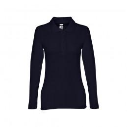 BERN WOMEN. Polo mânecă lungă pentru dame 30145.34-L, Albastru marin