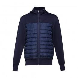 SKOPJE. Jacheta cu glugă bărbați 30246.34-L, Albastru marin